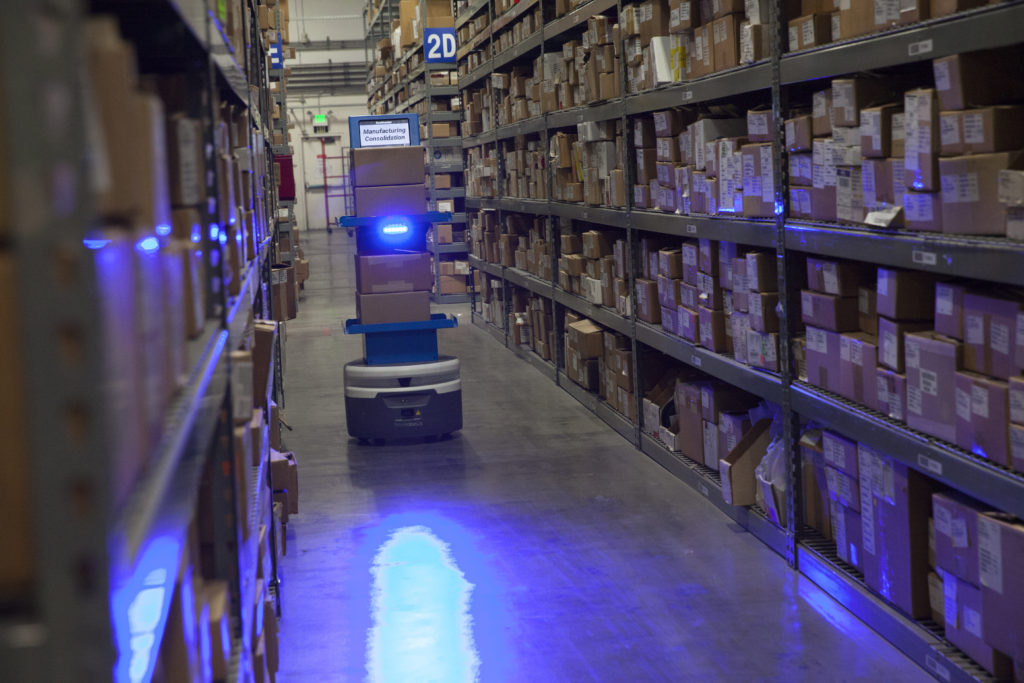 RK Logistics, Fetch Robotics Featured in SF Chronicle – RK