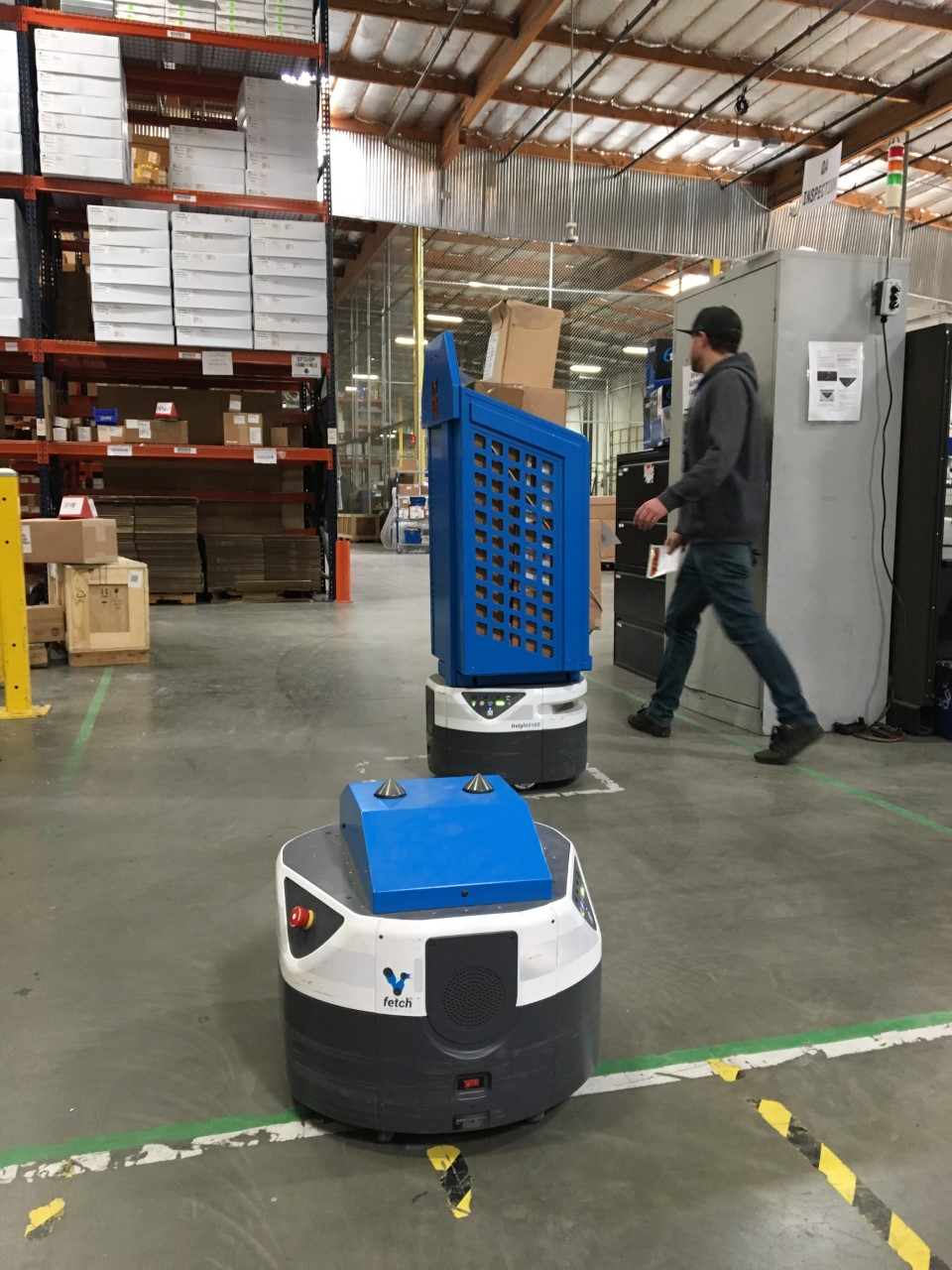 RK Logistics Doubles Down on Fetch Robotics in the Warehouse